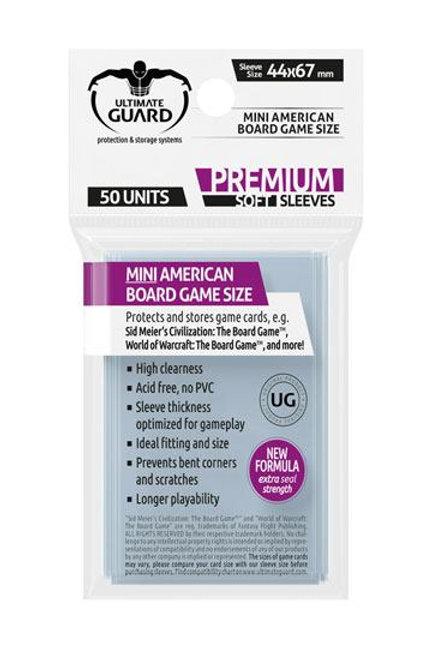 Sleeves Mini American (50)