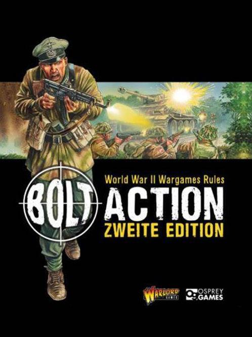 REGELBUCH - Bolt Action - 2 Edition - Deutsch / German