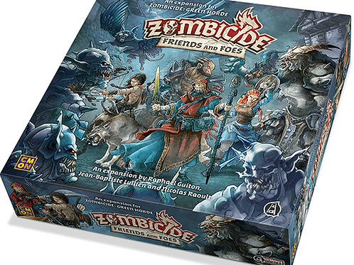 Zombicide - FRIENDS and FOES