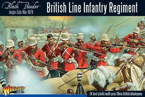 Anglo-Zulu War: British Line Infantry Regiment