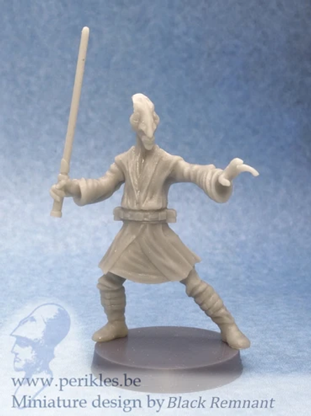 Boneheaded Space Monk
