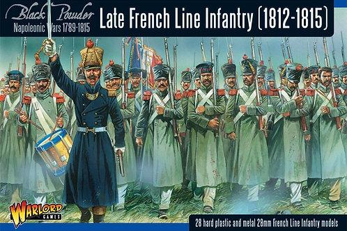Französische Linieninfanterie (1812-1815)