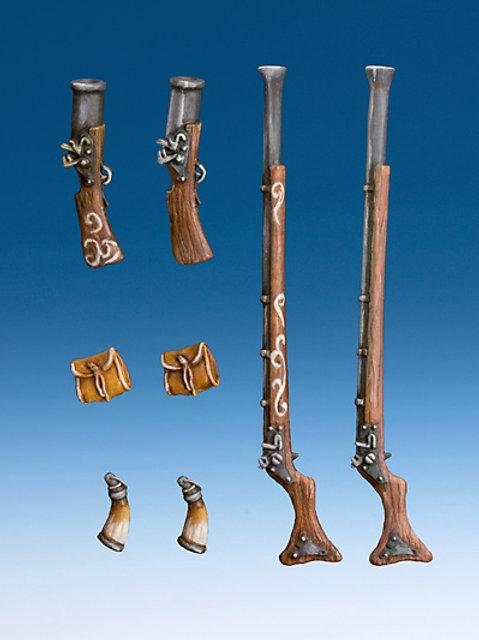 Schwere Piratenwaffen