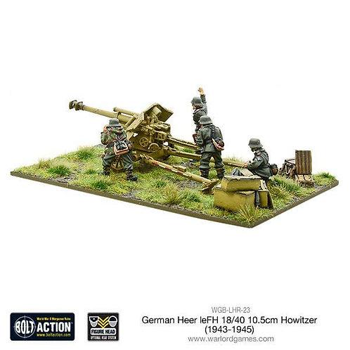 German Heer leFH 18/40 10.5cm howitzer (1943-45)