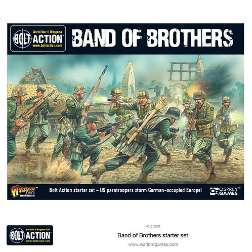 BAND OF BROTHERS - Bolt Action - Starter Set