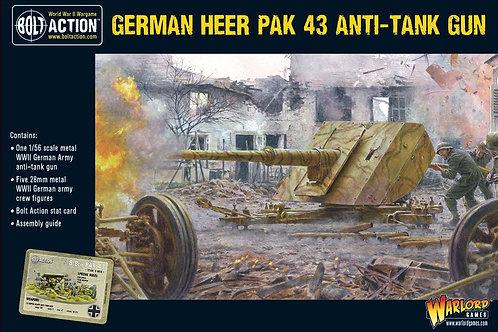 Deutsche Panzerabwehrkanone Heer Pak 43