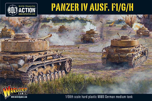 Panzer IV Ausf. F1/G/H medium tank (plastic) / Panzer 4