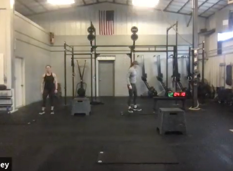 Live Workout Tuesday March 31