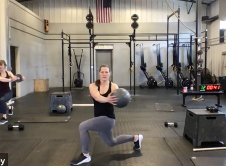 Live Workout Friday April 3rd