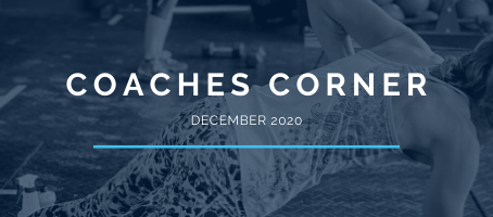 Coaches Corner December 2020