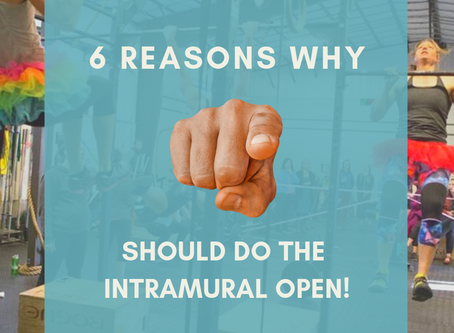6 Reasons You Owe It To Yourself To DoThe Intramural Open This Year!