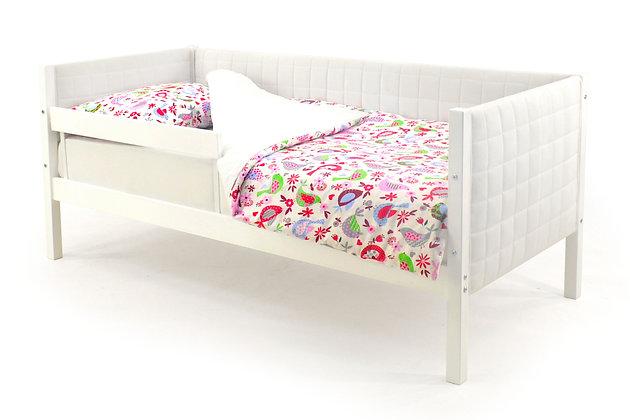 Кровать-тахта мягкая (белый)