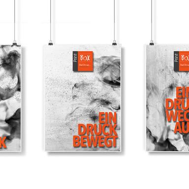 Poster und Plakate in der Printbox