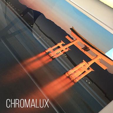Chromalux Aluminiumplatte