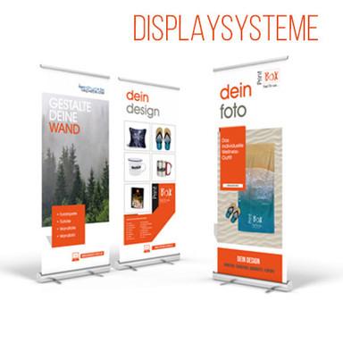 Displaysystem & RollUps