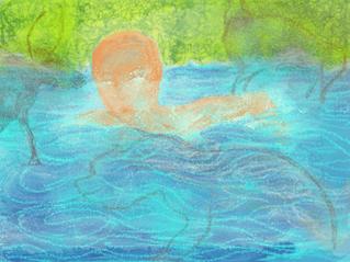 Grottes ornées et première baignade mystique