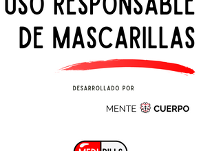 Uso responsable de mascarillas