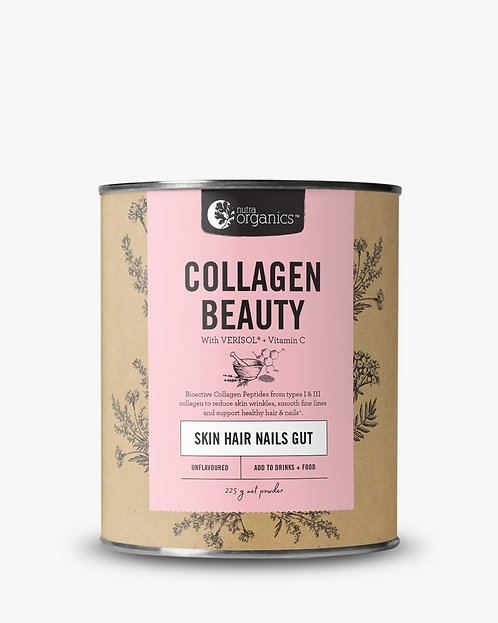 Nutra Organics Collagen Beauty - unflavoured 225g
