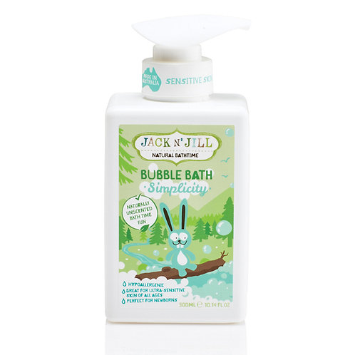 Jack N' Jill Bubble Bath Simplicity 300ml