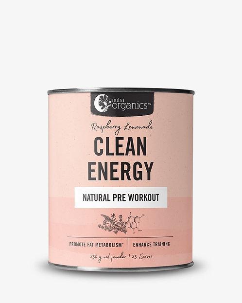 Nutra Organics Clean Energy 250g
