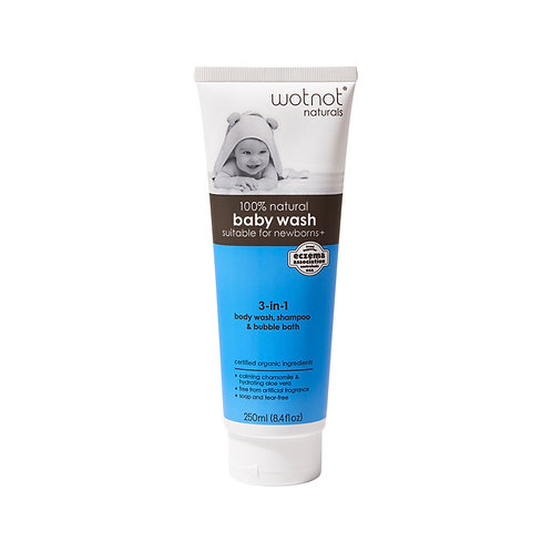Wotnot All Natural Baby Wash 250ml