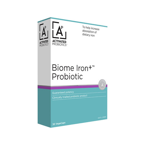 Biome Probiotic Iron+ 30vc