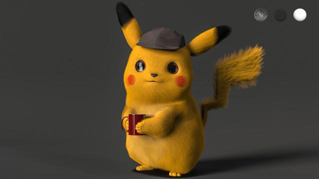 Recreating Detective Pikachu