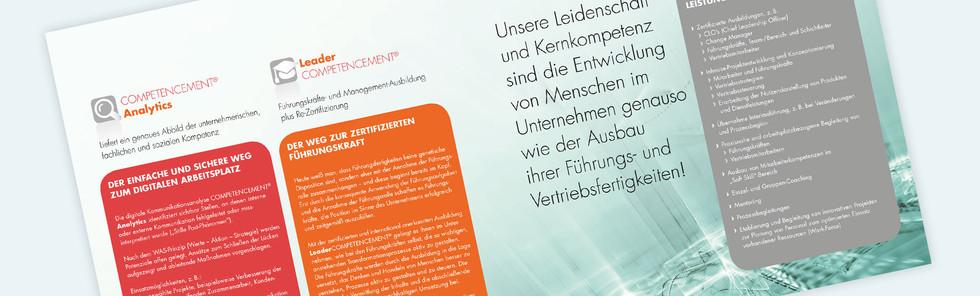 PREALIZE GmbH, Flyer, 21 x 21 cm, Innenseite