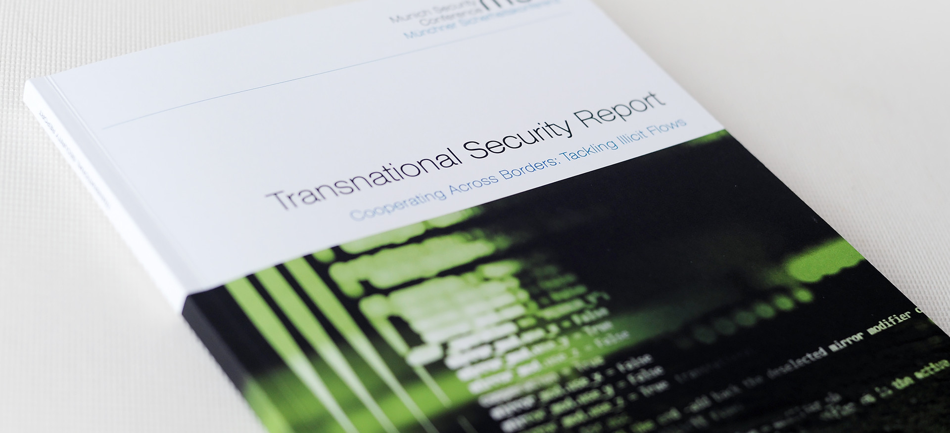 msc, Tansnational Security Report, Titel