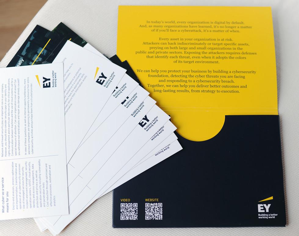 EY, Mappe mit Einlegern, DIN A5
