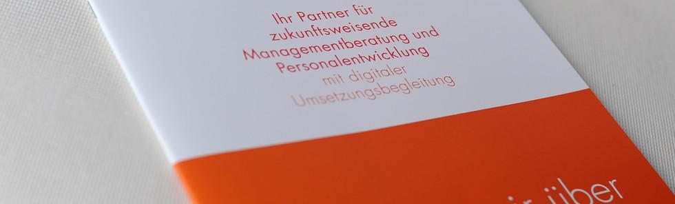 PREALIZE GmbH, Unternehmensbroschüre, Titel