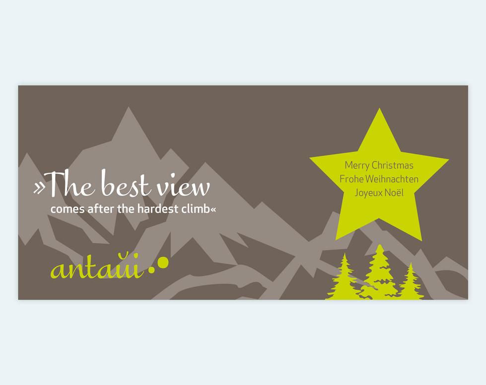 antaui GmbH, Weihnachtskarte 2016, Titel