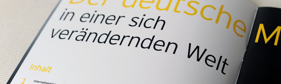 EY, Mittelstandsbarometer 2019, Inhaltsüberverzeichnis