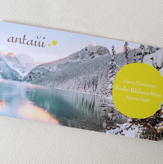antaŭi GmbH, Weihnachtskarte