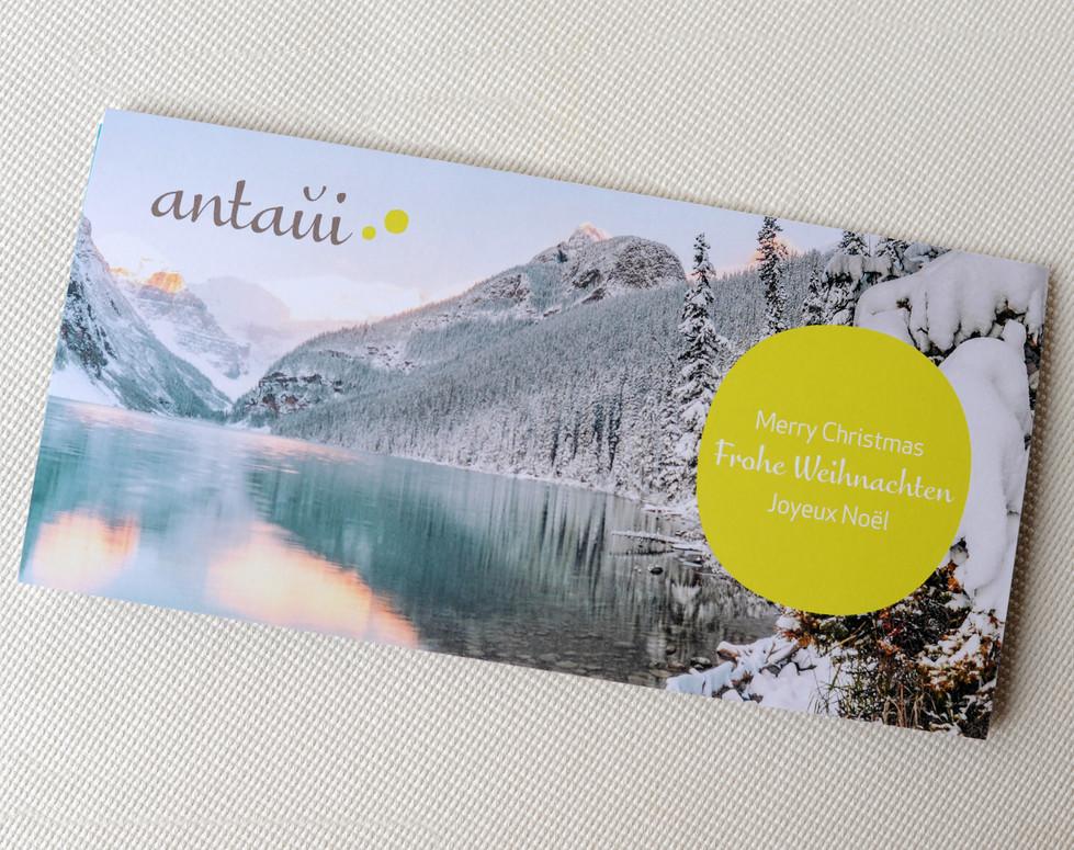 antaui GmbH, Weihnachtskarte 2019, Titel
