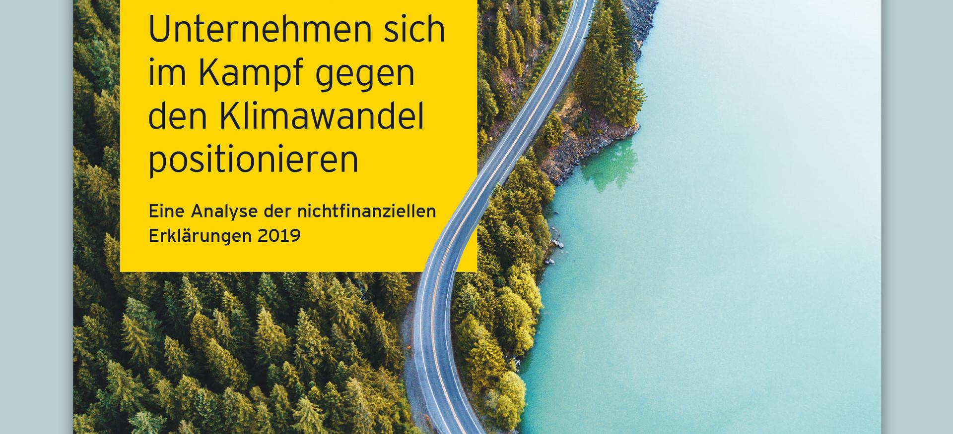 »Wie deutsche Unternehmen sich im Kampf gegen den Klimawandel positionieren«