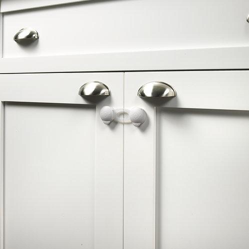 "4"" Safe & Shut® Multi-Use Locking Strap (4-Pack)"