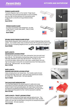 Parent Units Catalog Kitchen and Bathroo