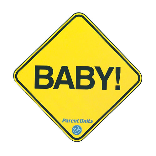 BABY!  Car Magnet  (2-Pack)