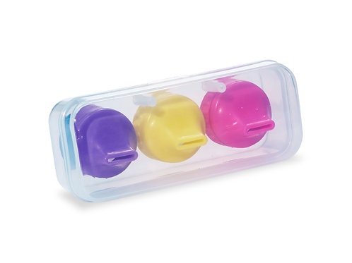 Sippin Spouts® 3-Pack with Travel Case