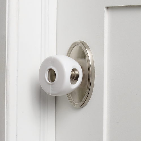 No Knobs! Door Knob Covers (4-Pack)