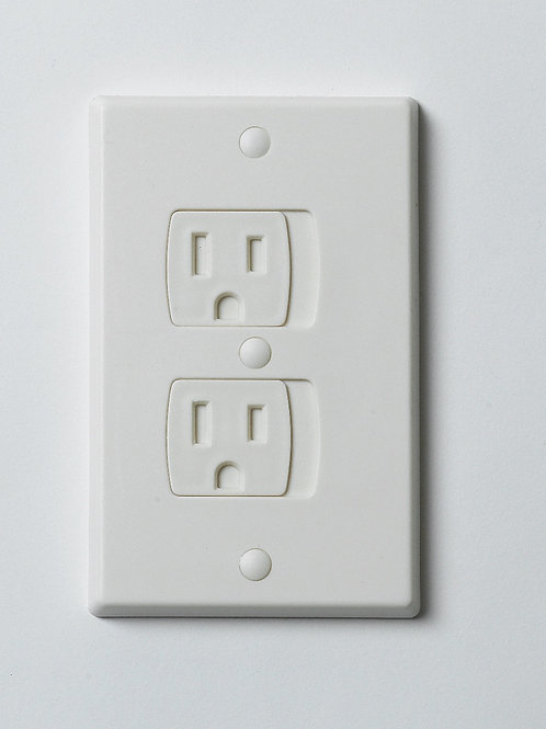Outlet Guard Electrical Outlet Cover (2-Pack)