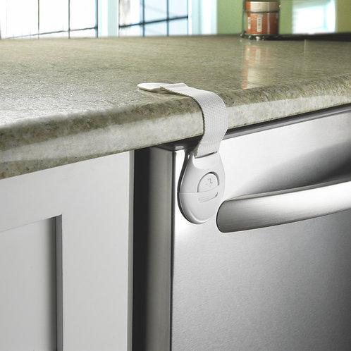 Safe and Shut® DishWasher Locking Strap