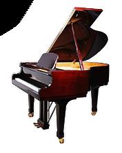 Magasin de piano à Bruxelles