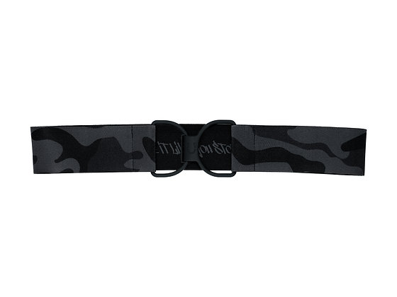 Stole It Black Camo & Black Matte Embossed Logo Clasp