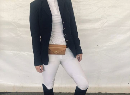 Kaley Cuoco steps out in The Equestrian Hip Clutch™