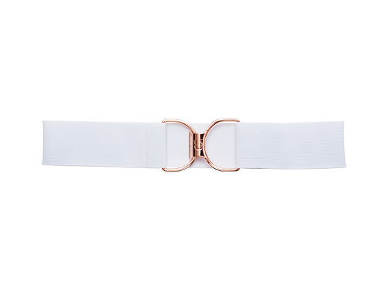 Bubbly and Rose Gold Embossed Logo Clasp