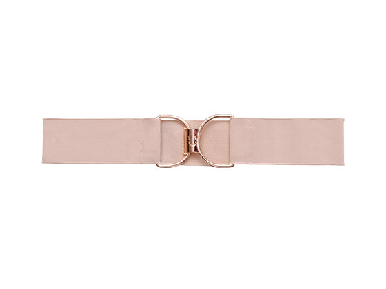 Rosé and Rose Gold Embossed Logo Clasp