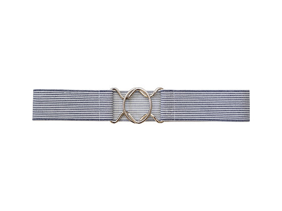Sag Harbor Stripe & Gold/Silver Clasp