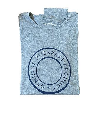 UPF Sun Shirt - Grey/Navy Rivet